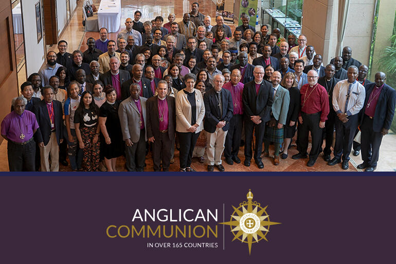 Members of the Anglican Consultative Council meet in Hong Kong in 2019.