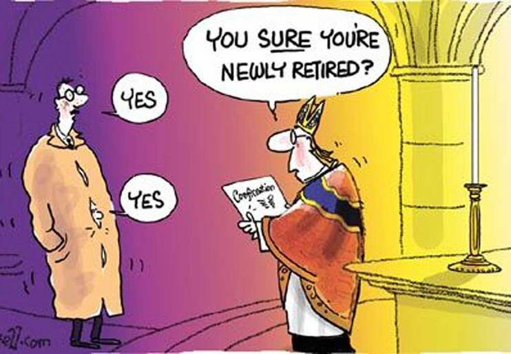 Should Confirmation be reserved for the newly retired? Feature from the Church Times.