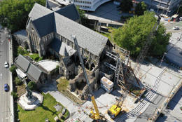 Cathedral farewells steel frame