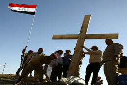 Christians start again in Mosul