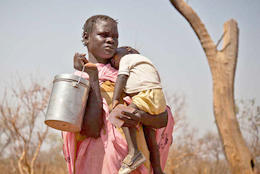 Famine threatens in Sudan