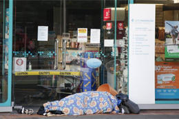 Lockdown hits homeless NZers