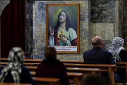 Pope brings rare revival to Iraq