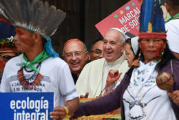 Pope calls out racism at synod