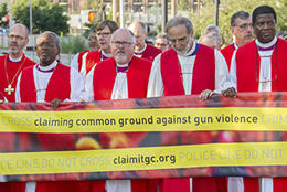 Rallying against gun violence
