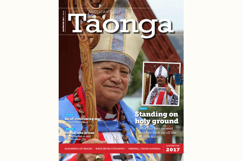 The Eastertide issue of Anglican Taonga magazine is out.