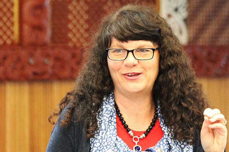 The Ven Carole Hughes, who is the Convenor of the Centre for Anglican Women's Studies, and Archdeacon of Auckland Central.
