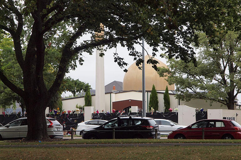 Al Noor Mosque in Linwood, Christchurch where 42 people lost their lives in the March 15 terror attack. Photo: James Dann, Wikipedia Commons.