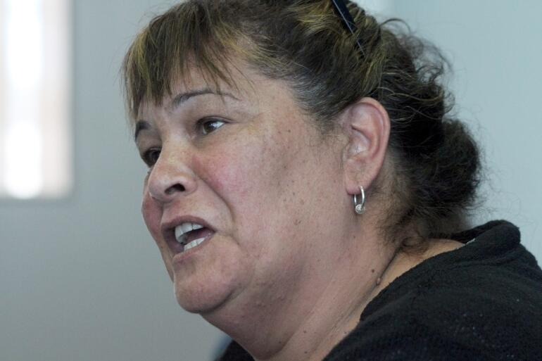Mira Martin, who is a longtime advocate for rangatahi and social justice.