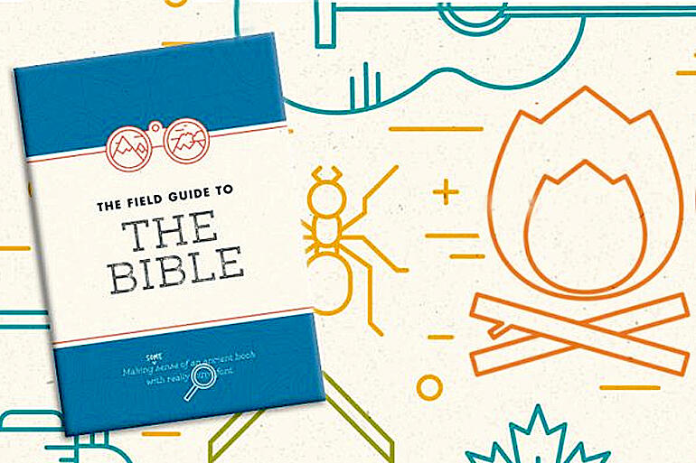 The Bible Society's Field Guide to the Bible offers a map to help people new to the Bible find their way.