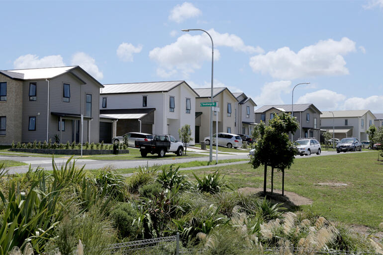 Anglicans are urged to back 'Kiwibuy' – a scheme to help low income families buy homes like these Housing Foundation builds in Auckland.