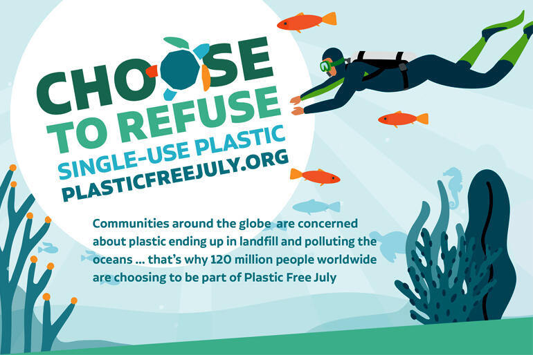 The three-Tikanga Anglican Social Justice Network has invited Anglican communities to join the Plastic-free July movement.