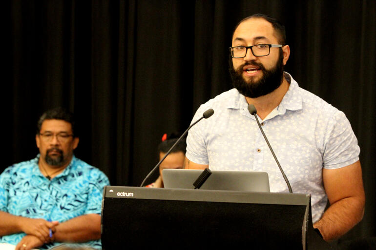Isaac Beach (Tairawhiti) encourages synod to prioritise climate change preparedness.