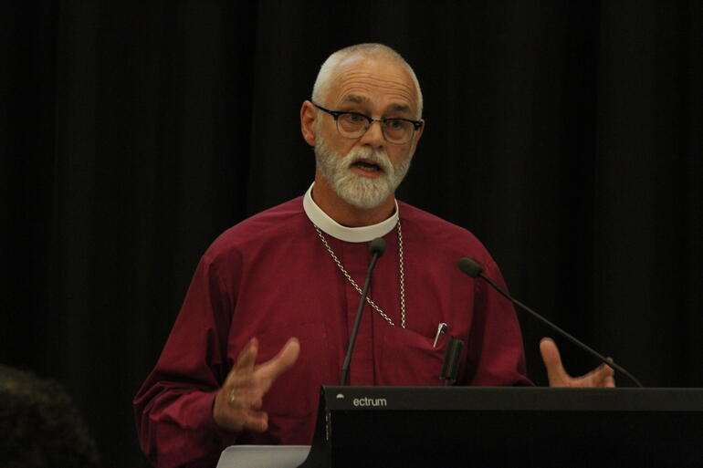 Bishop Jim White outlines the proposed new rites to replace confirmation.