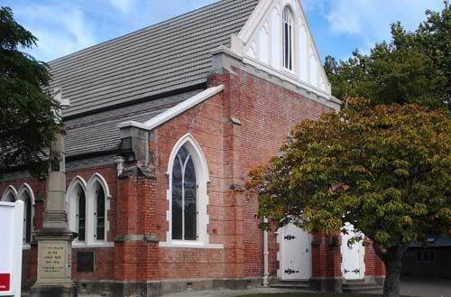 Holy Trinity Gisborne: had a narrow escape from demolition after a severe earthquake in 1932.
