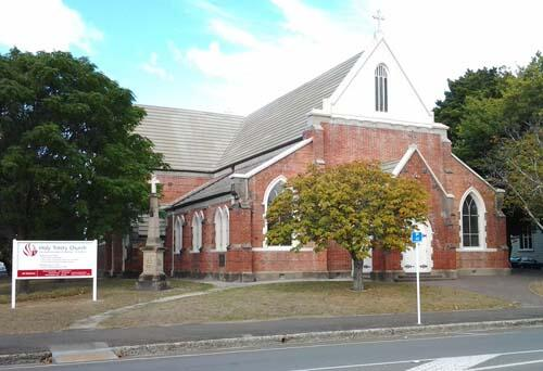 Holy Trinity stands tall in Gisborne.
