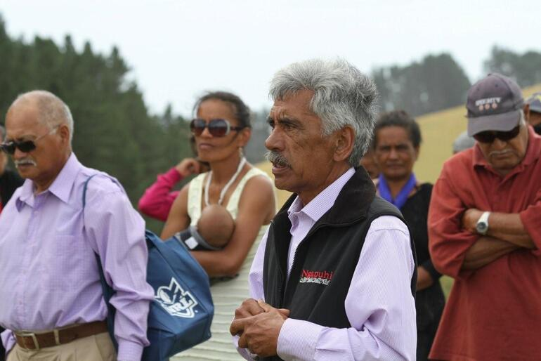 Hugh Rihari, the Ngati Torehina kaumatua, speaks of his people's hope for the project.