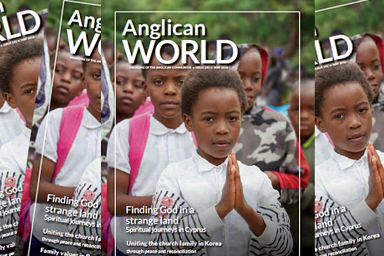 The latest issue of communion-wide magazine 'Anglican World' features Anglicans working in post-cyclone Fiji.