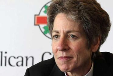 "Bishop Katharine Schori: ""We have a variety of opinions on human sexuality."""