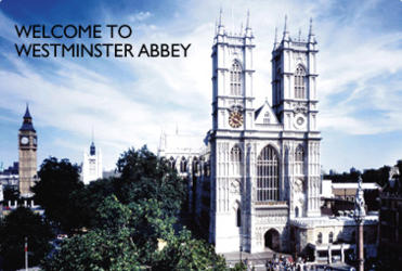 Westminster Abbey: soon to be fitted with a crown.