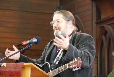 Bishop Mark MacDonald, Canada's first National Indigenous Bishop, contributes a song.