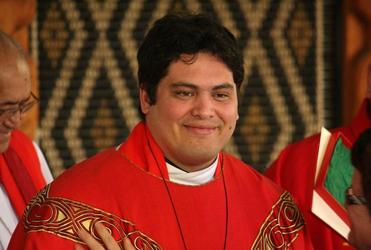 We give you the Rev Michael Tamihere, Priest.