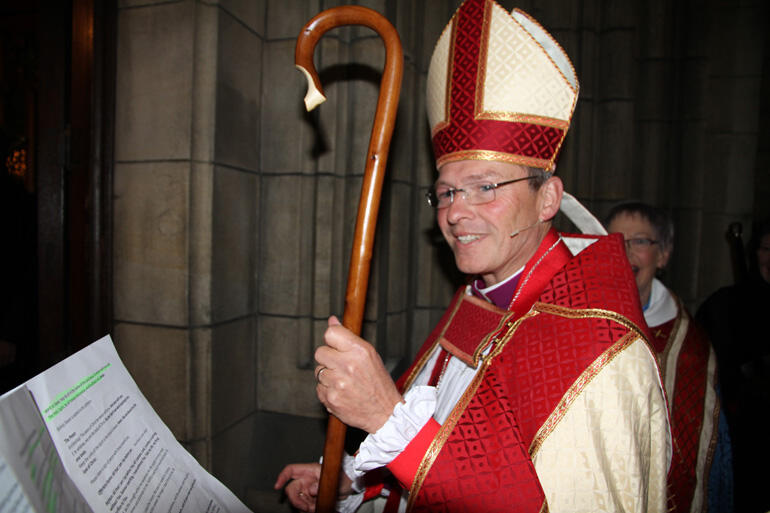 The Rt Rev Dr Steven Benford has been ordained and installed as Bishop of Dunedin.