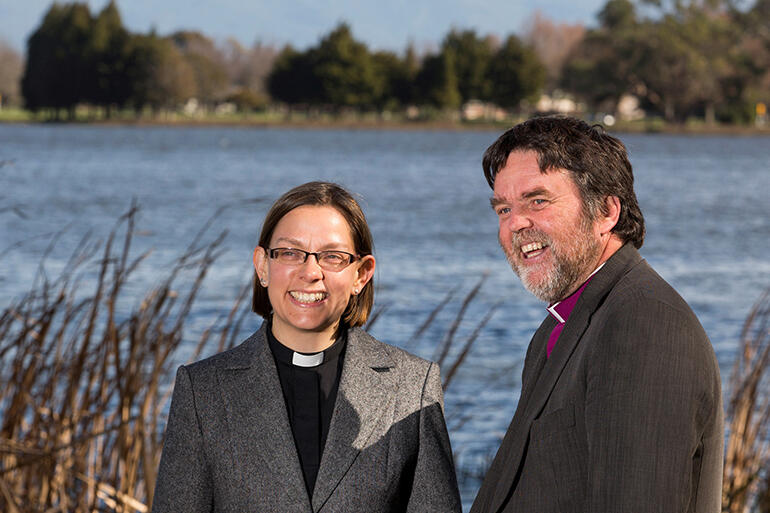 The Diocese of Waikato and Taranaki has a unique leadership model. Helen-Ann Hartley and Philip Richardson will be equal bishops.