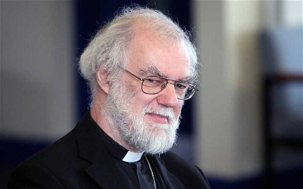 Dr Rowan Williams' visit to Christchurch towards of the end of the year may coincide with completion of the Transitional Cathedral.