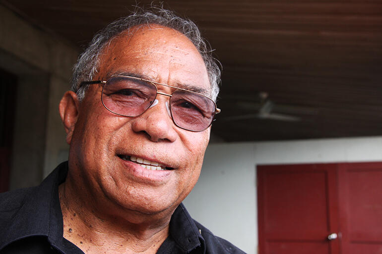 Rev Joe Le'ota, who died in Auckland on Monday. Seen here at Suva's Holy Trinity Cathedral in 2010.