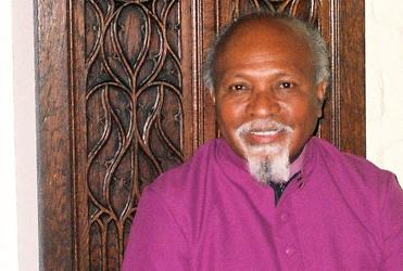 Archbishop Joe Kopapa, newly elected primate of the Anglican Church in Papua New Guinea.