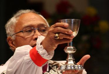 "Bishop Winston Halapua: ""After supper, he took the cup..."""
