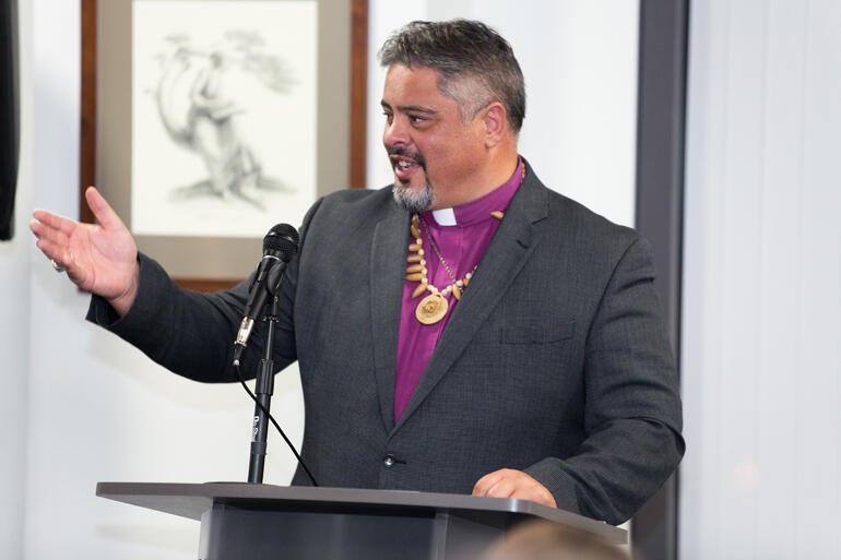 Archbishop Don Tamihere has received an award for a 20-year long ministry of educational exchange with Loyola Marymount University in Los Angeles.