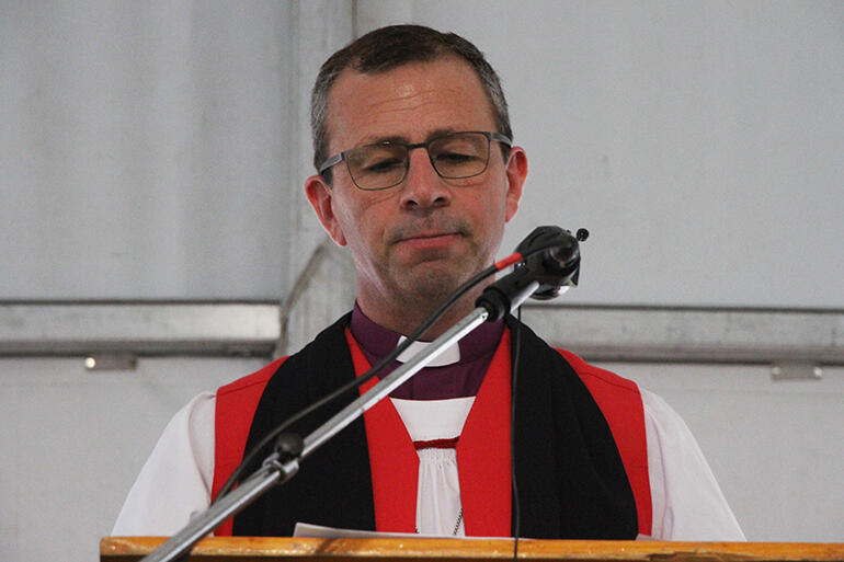 The Bishop of Waiapu, Andrew Hedge, retells his grief at hearing the apology read at May's General Synod.