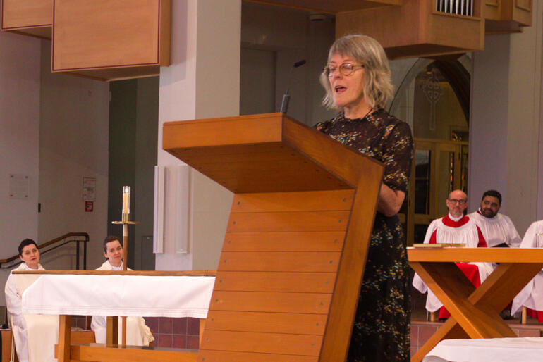 Bishop Jim's wife Jane Hart shares her eulogy for his requiem.
