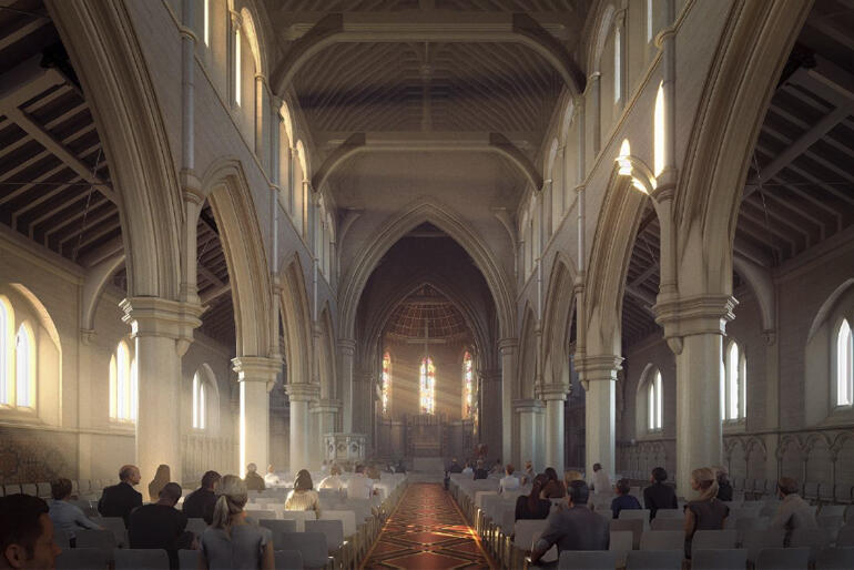 The Cathedral interior will be more flexible, with improved acoustics and modern, efficient underfloor heating.