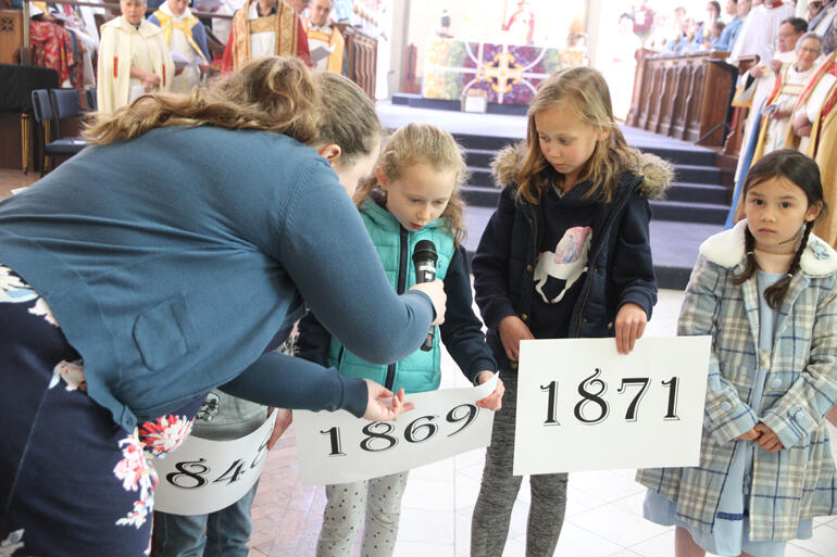 Children from around Otago and Southland report on stories from the history of the diocese.