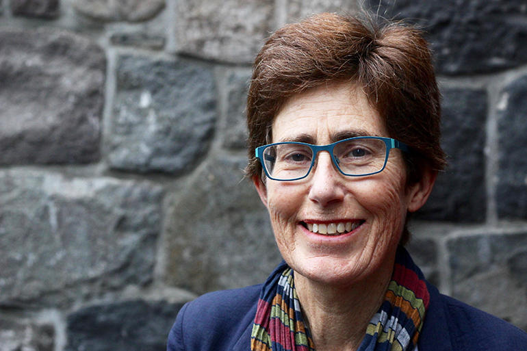 Jenny Goddard the architect who is leading the Taranaki Cathedral Project as its Remediation and Design Manager.