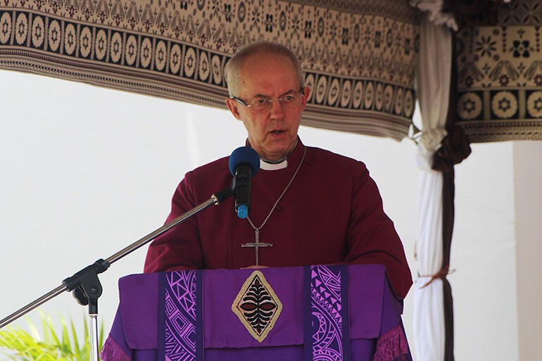 Archbishop Justin Welby makes his feelings clear on climate change.