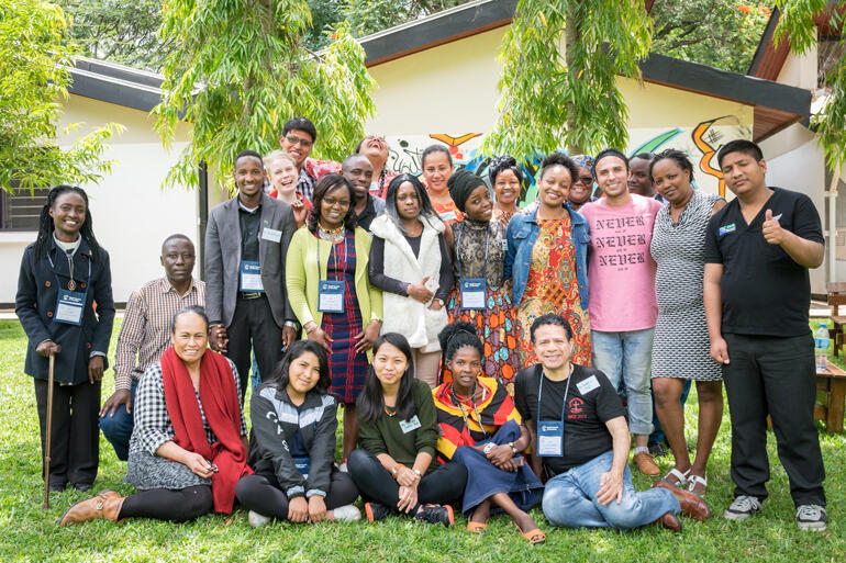CWME Indigenous Youth Pre-Conference, Arusha, Tanzania, March 2018. Photo: Xanthi Morfi/WCC