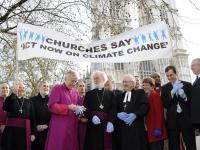 Church leaders gather for the launch of the London Wave campaign.